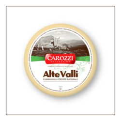 Oryginalny włoski ser krowi Latteria Alte Valli